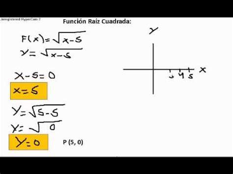 raiz cuadrada de 13 funci 243 n ra 237 z cuadrada youtube