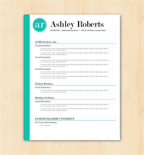 download free resume templates for mac free resume template