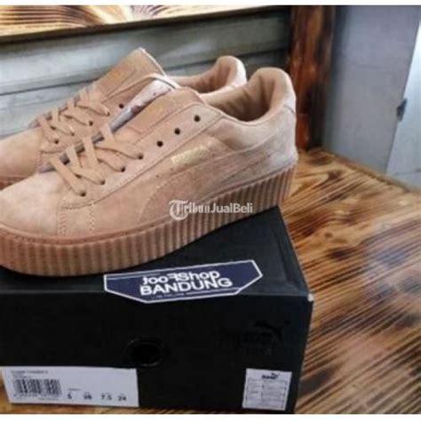 Sepatu Fenty Suede Import 1 sepatu rihanna fenty suede creapers brown premium