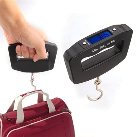 Timbangan Gantung Digital Scale Mini Portable portable handheld mini 50kg 10g luggage weight weighing