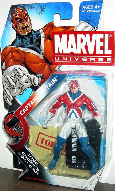 Marvel All Figure captain britain marvel universe series 2 026 figure