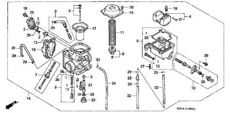 honda foreman 400 parts diagram wiring diagram for 2000 honda foreman 400 get free image