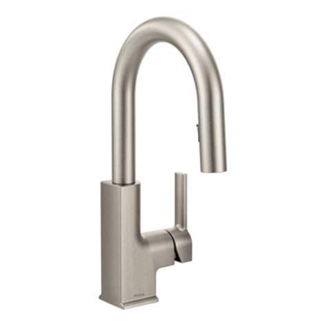 faucet com ca87020srs in spot resist stainless by moen moen sto single handle bar faucet featuring reflex in spot