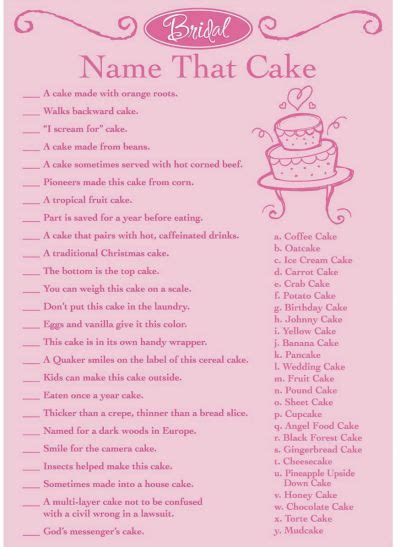 printable bridal shower games for free 10 free printable bridal shower games page 4