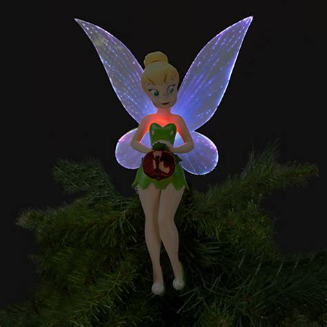 tinkerbell tree topper disney store new disney store 2012 light up tinker bell tree topper fairies ebay