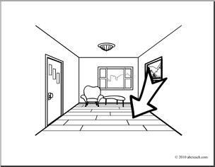 Floor Coloring Page floor clipart clipart suggest