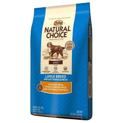 weight management oatmeal nutro choice large breed weight management