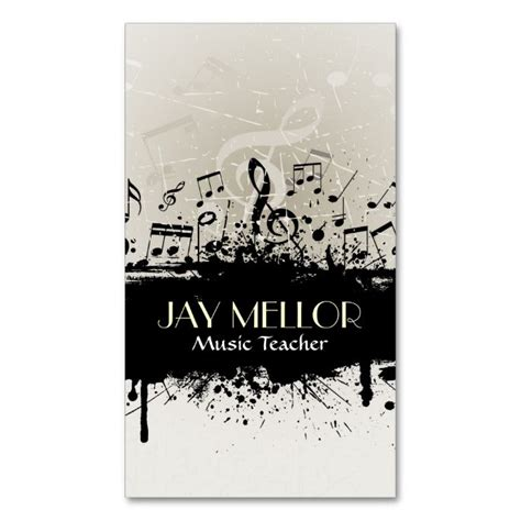 make your own musical card 1000 images about business card templates on