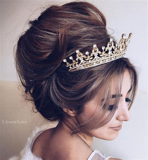 Wedding Hairstyles Updos With Tiara by 20 Gorgeous Wedding Hairstyles For Hair