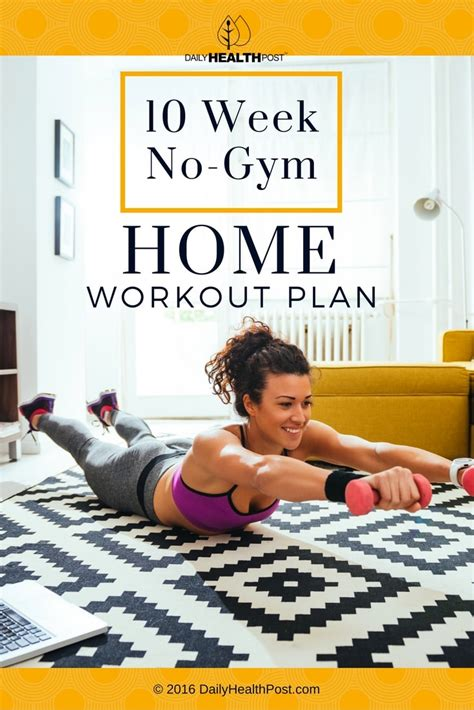 12 week no gym home workout plans military diet daily workout plan to lose weight at home