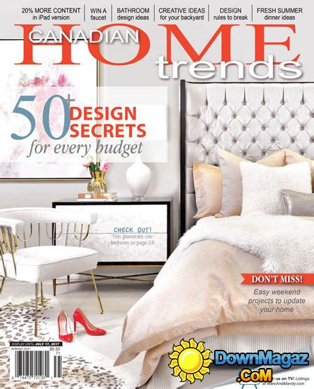 free home decor magazines canada home decor magazines canada 28 images home decor