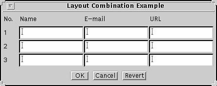 table layout manager java tricks of the java programming gurus