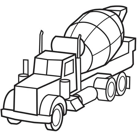 printable coloring pages trucks 40 free printable truck coloring pages download http