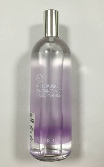 Parfum Shop White Musk the shop white musk fragrance mist review
