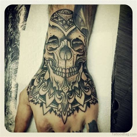 tattoo mandala skull 50 great looking mandala tattoos on hand