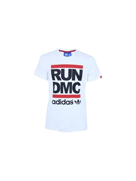 Original Adidas Tshirt Run Bq8380 adidas originals x run dmc logo t shirt in white