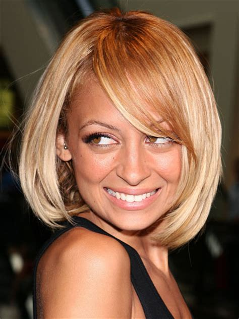 nicole richie blonde bob stylenoted from our archives wispy angular bob