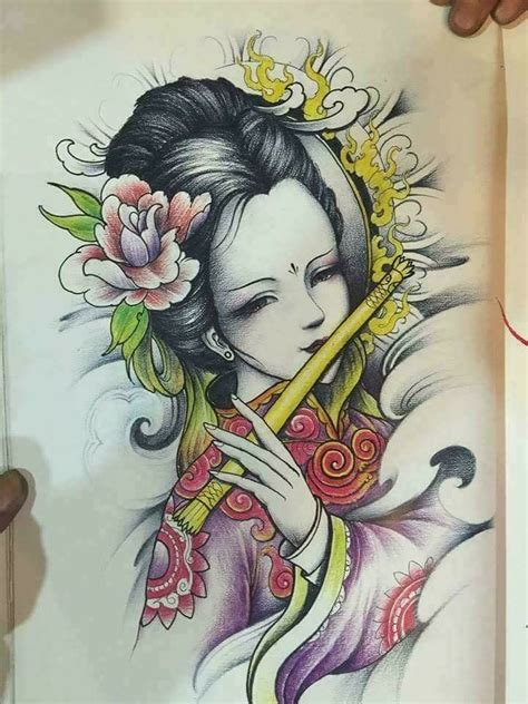 tattoo oriental com flores 7 melhores imagens de gueixas no pinterest gueixas