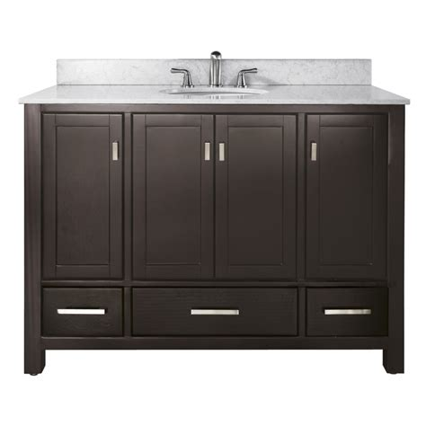 48 Inch Bathroom Vanity by 48 Inch Single Sink Bathroom Vanity In Espresso With