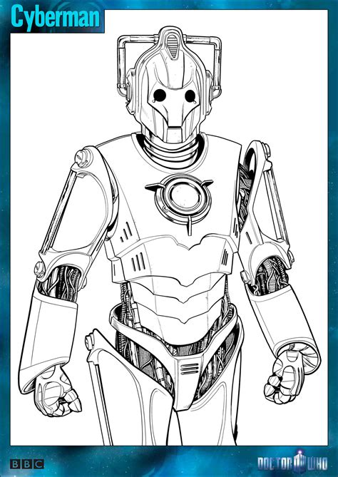 doctor who coloring pages official doctor who