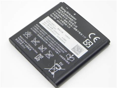 Batterai Sony Xperia X10 Mini E10i phone accessory batteries sony ericsson