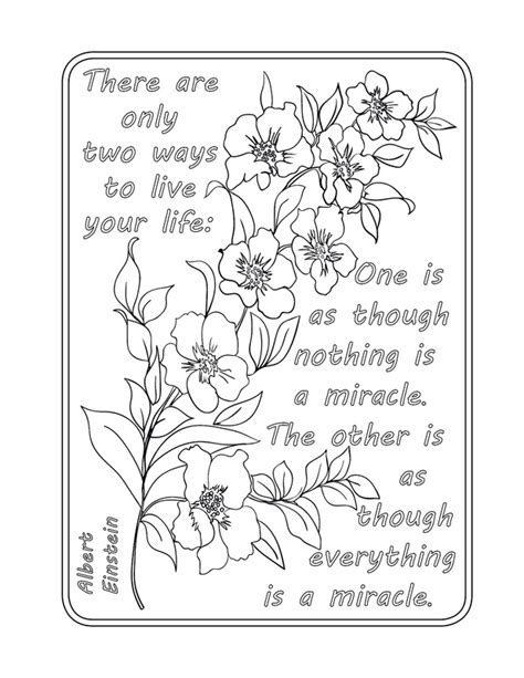 printable mindfulness quotes information on being in the now a colouring book which