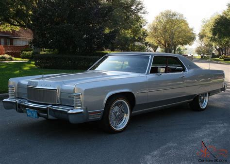 1974 lincoln town coupe gorgeous ultra survivor 1974 lincoln town coupe 46k