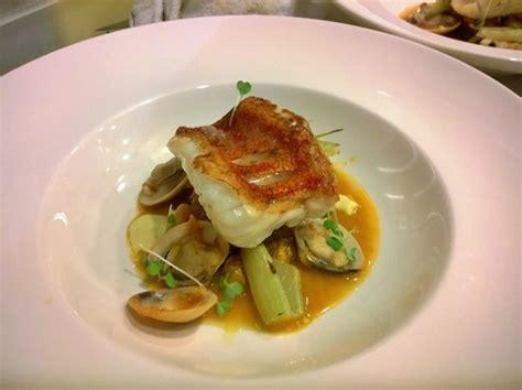 scorpion fish clams bouillabaisse sauce picture of