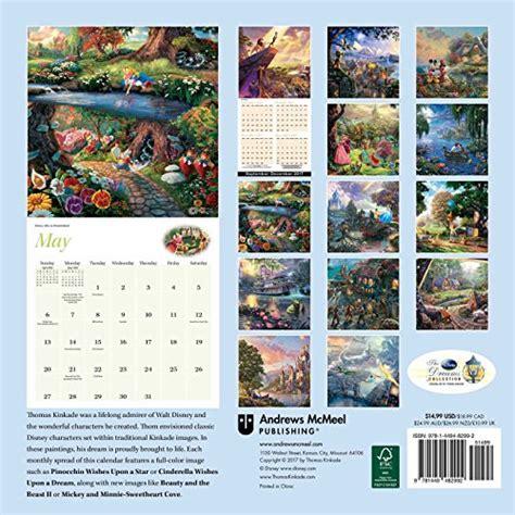 thomas kinkade desk calendar 2018 thomas kinkade the disney dre sale r50 off your first