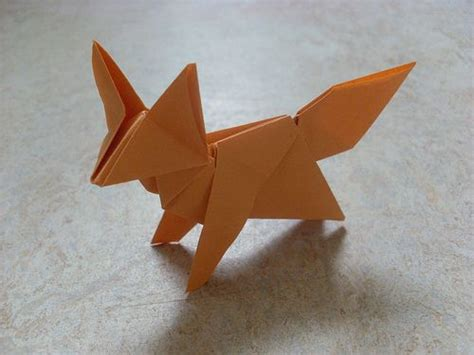 How To Make A Fox Origami - 25 best origami ideas on