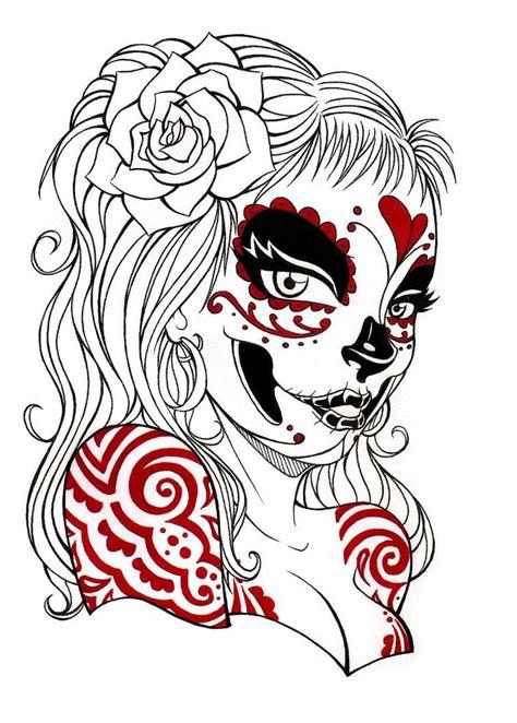tattoos de catrinas la catrina tattoos arte chicano la catrina