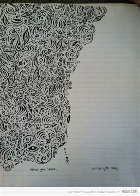 doodle imagine draw notebook 9gag awesome black cool image 437858 on favim