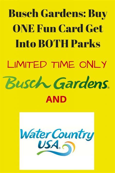 Busch Gardens Williamsburg Card by Busch Gardens Williamsburg Coupons Archives A Frugal