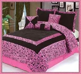 pink and black zebra comforter set 7pc luxury faux fur safarina pink black zebra animal