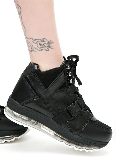 High Top Platform Sneakers y r u qozmo aiire high top platform sneakers dolls kill