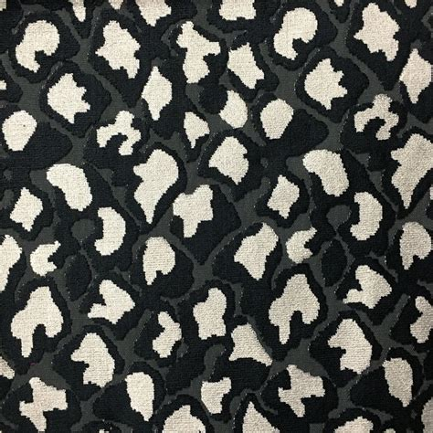 printable upholstery fabric hendrix leopard pattern cut velvet upholstery fabric by