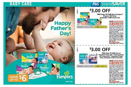 babies r us pampers coupons 2018