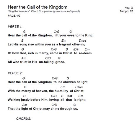 what do u call hear that is black with blonde underneath hear the call of the kingdom chord grace music
