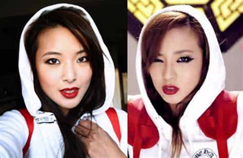 Awisa Top In Black Dara top 6 korean on