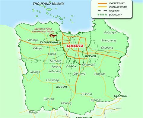 Travel to Jakarta (Jabodetabek)   TravelsMaps.Com