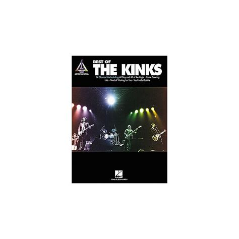 picture book kinks chords hal leonard best of the kinks guitar tab book musician s