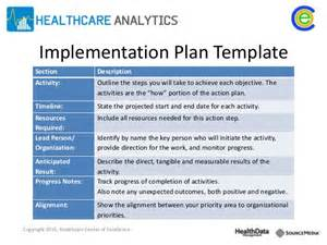 policy implementation plan template image gallery implementation plan template