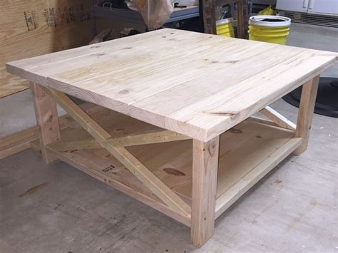 diy square coffee table best 25 rustic coffee tables ideas on dyi