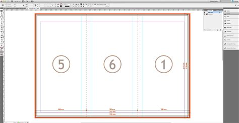 How To Make A Brochure Out Of Paper - tutorial create a tri fold business brochure 187 saxoprint