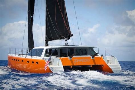 catamaran sponson design best colours for visibility at sea page 4 boat design