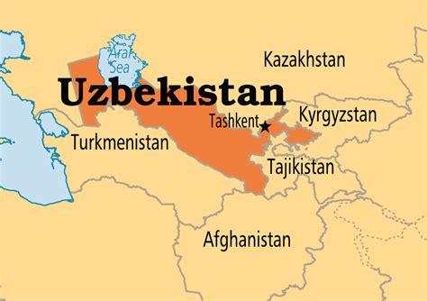 uzbekistan world map uzbekistan operation world