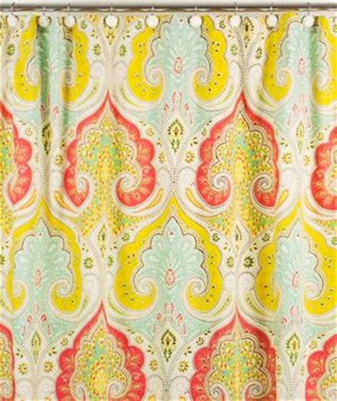 bright paisley curtains the guest real simple and fabrics on pinterest
