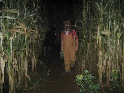 corn maze haunted house haunted corn maze oct 21 2009 youtube