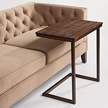 amazon.com: wood laptop table for couch recliner and sofa