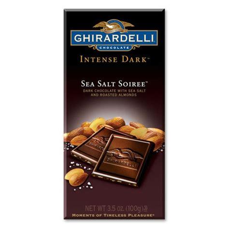 ghirardelli chocolate sea salt roasted